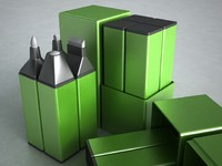 pen kit glue 3d model