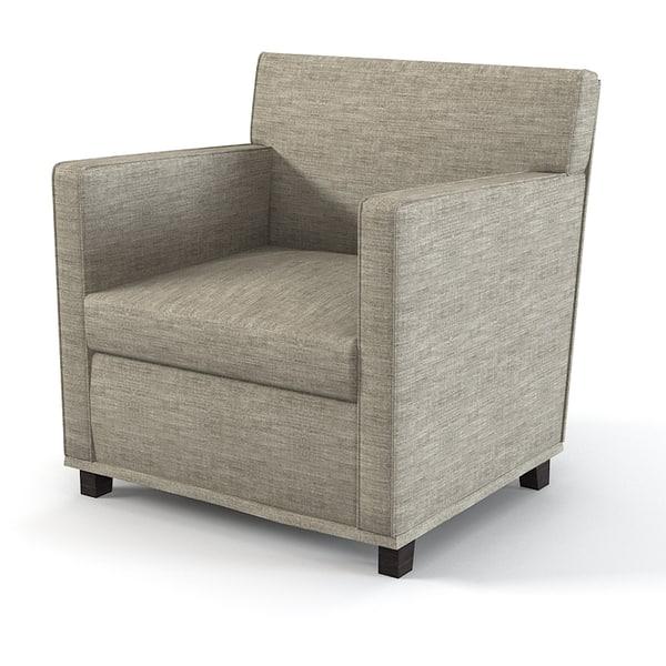 3d casamilano armchair chair