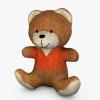 Teddy Bear with Orange Shirt