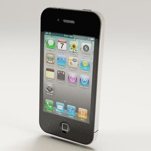 3d iphone 4 model