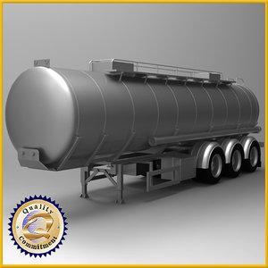 oil tank tanker obj