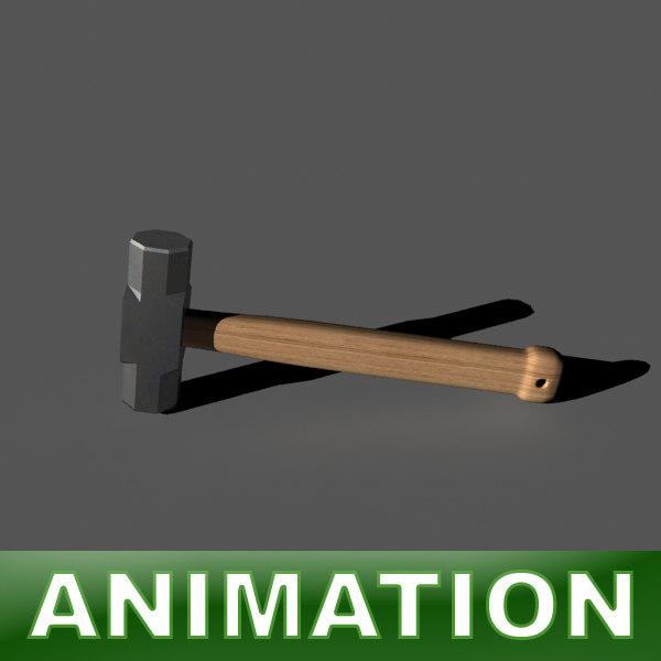 3d hammer 4lb