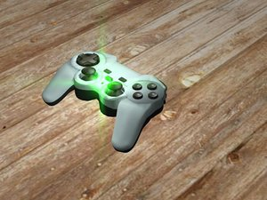 gamepad saitek p480 rumble 3d model