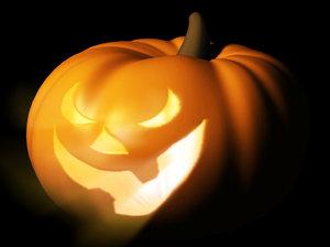 free obj model halloween pumpkin