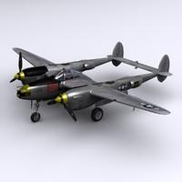 P-38L Lightning - Maj. R. Bong