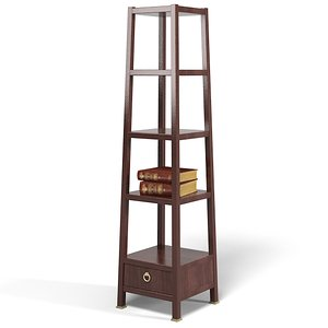 3d baker monument etagere model