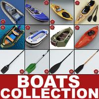 boats v2 3d c4d