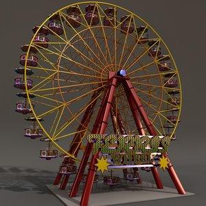 ferriswheel carousel c4d