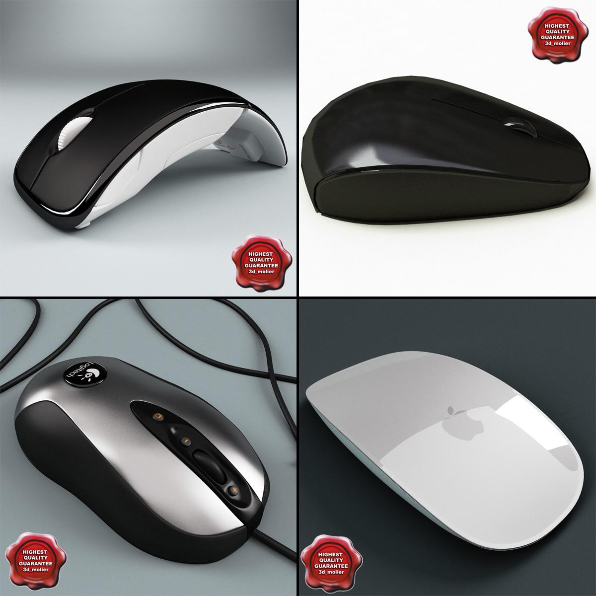 computer mouses v2 c4d