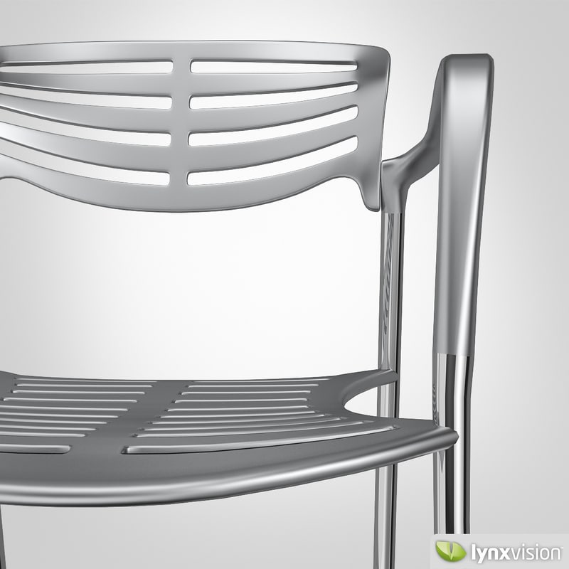 3d model jorge toledo chair