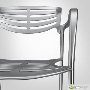 3d model jorge toledo chair