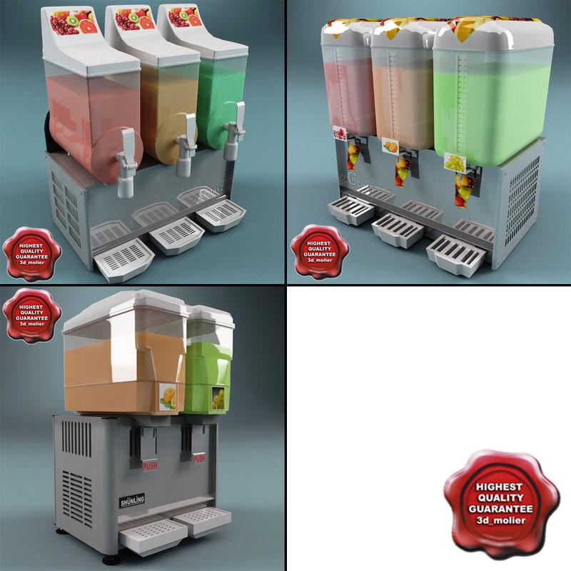 drink dispensers c4d