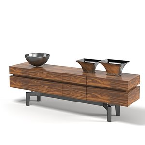 3d giorgetti time sideboard model