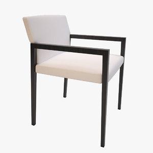 hbf bolano chair 3d max