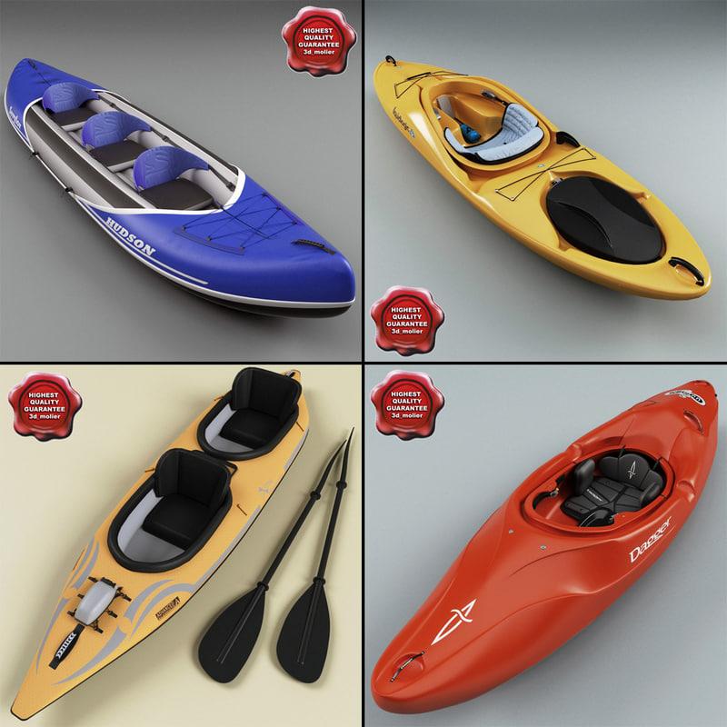 max kayaks modelled