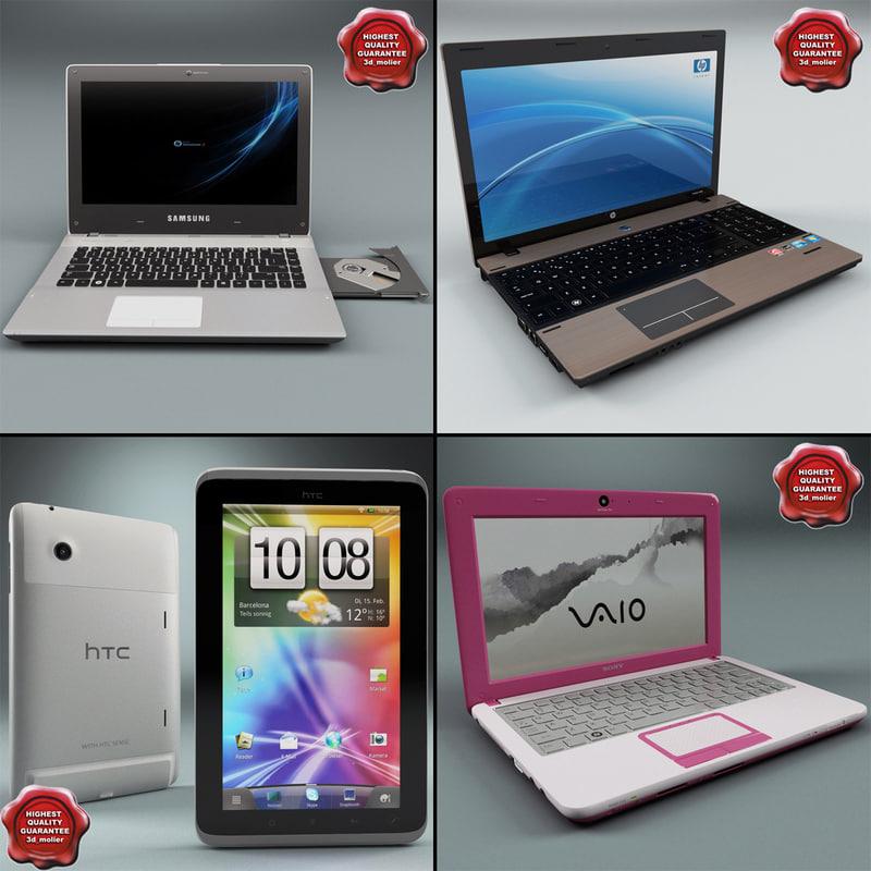 laptops v1 3d 3ds