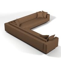 3ds laurameroni divano corner