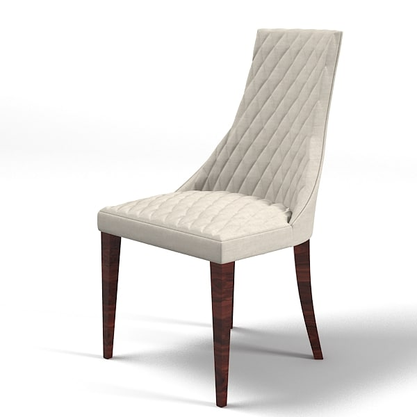 Mobilidea Tantibes Dining Chair Tufted Modern Contemporary Art Deco