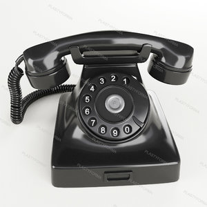 phone black 3d max