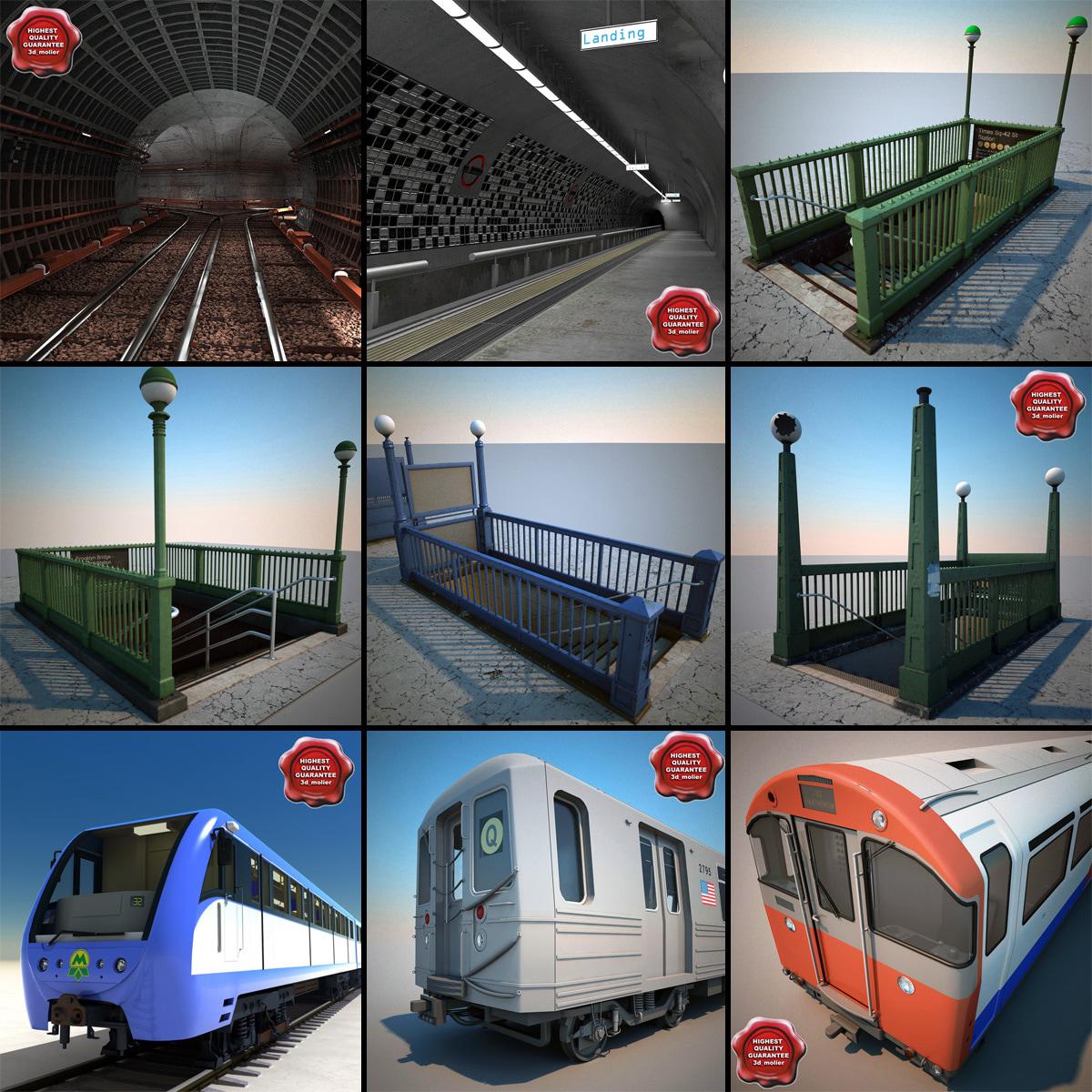 3d 3ds subway v2