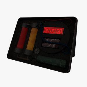 3d tin box bomb
