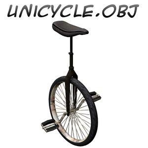 unicycle obj