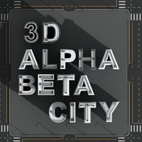3D Alphabet City 2
