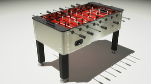foosball table 3d 3ds