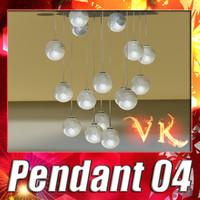 3d max modern pendant lamp 04