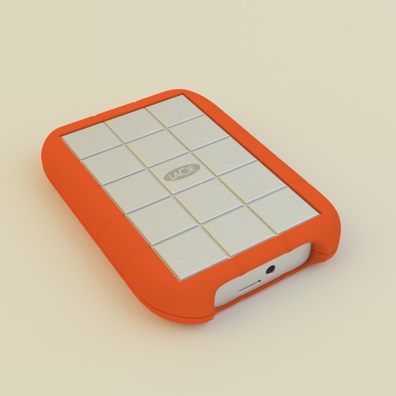 3d lacie rugged