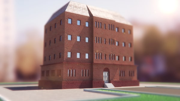 obj school building