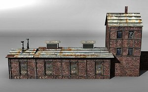 3d train shed
