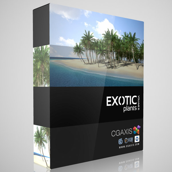 3d volume 15 exotic plants