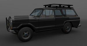 3d wagoneer model