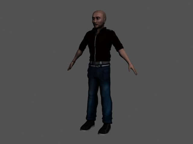 male diffuse normal 3d 3ds