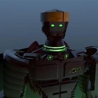 free c4d mode robot atom movie real