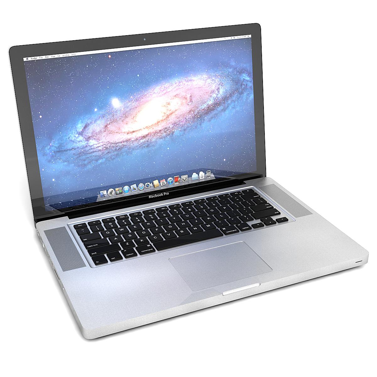 3d apple macbook pro model