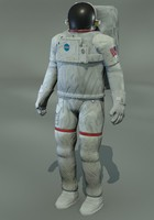 astronaut man 3d model