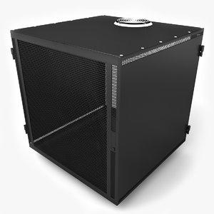 cubic server rack 3ds