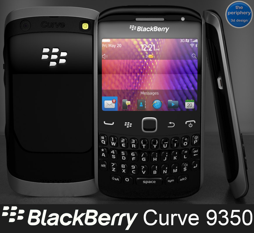 dxf blackberry curve 9350 smartphone