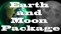 Moon & Earth Package