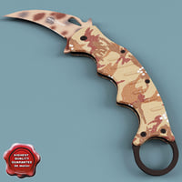 FOX Karambit Camo Knife