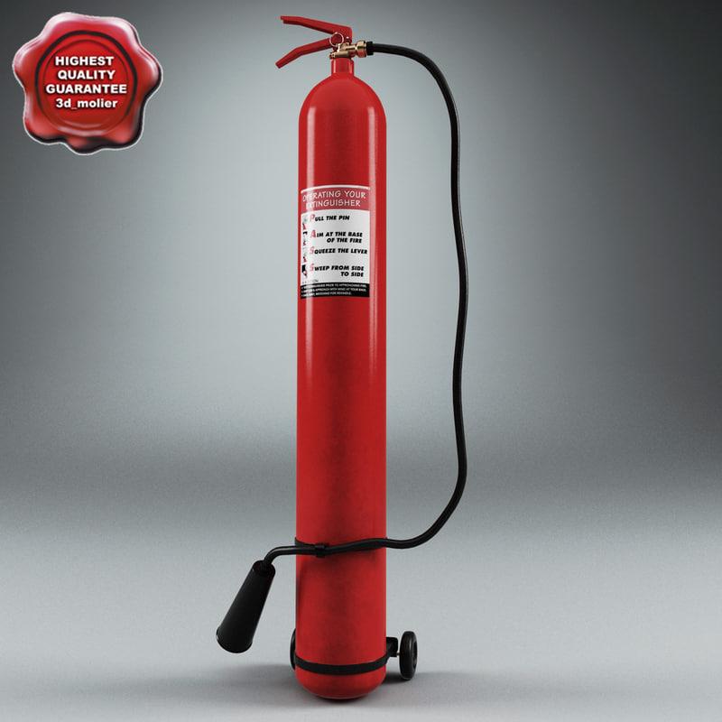 extinguisher v7 3d 3ds