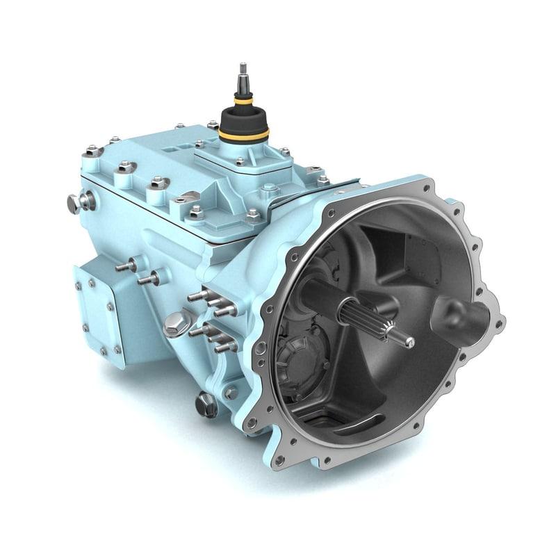 3dsmax gear box