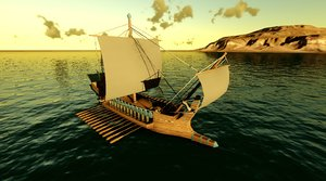 maya greek ship