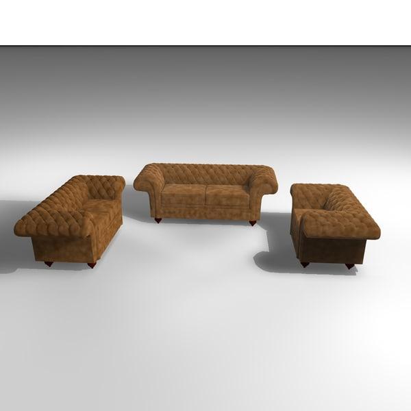 c4d 3 grosvenor velvet armchairs