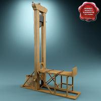 3d model guillotine v2
