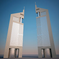 jumeirah emirates towers 3d model