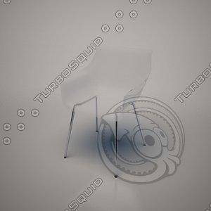 kab chair frighetto 3d x