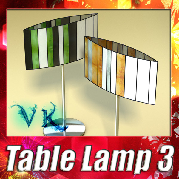 modern table lamp 03 max